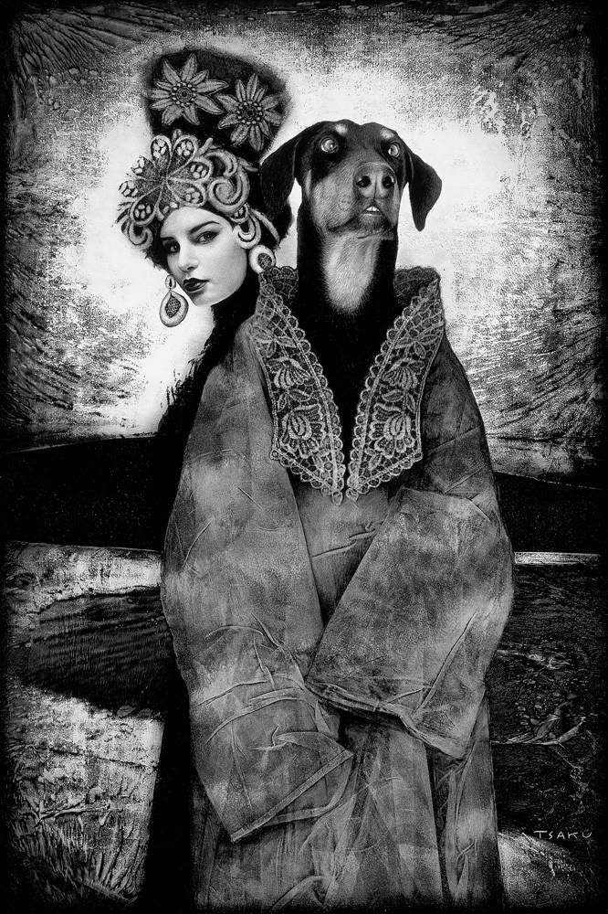 haiya kdusha and woman