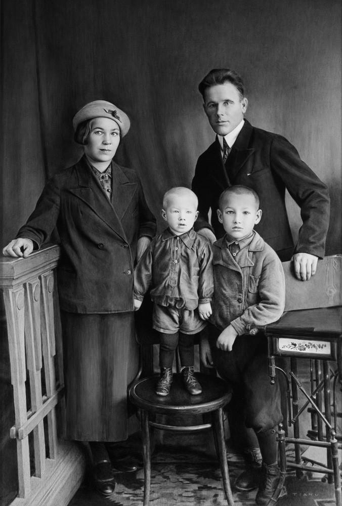 boris yeltsin family